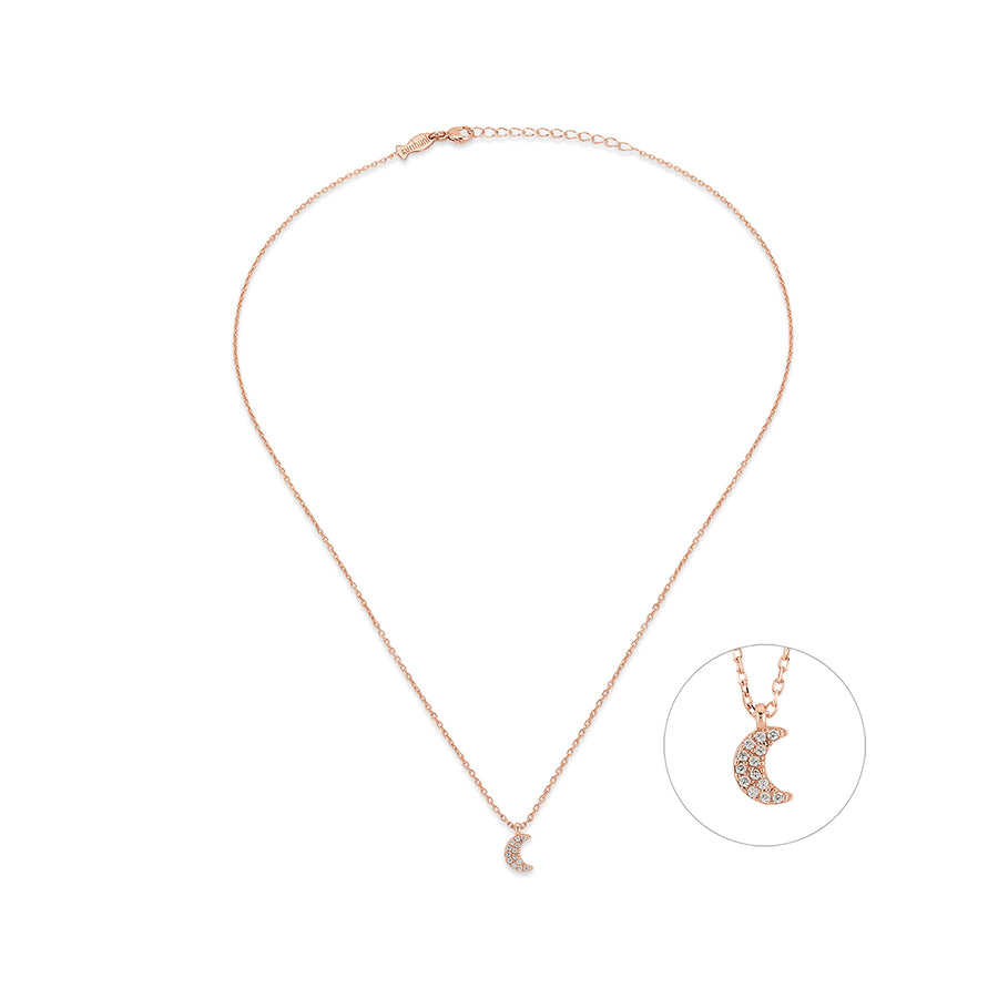 Little Crescent Moon Necklace