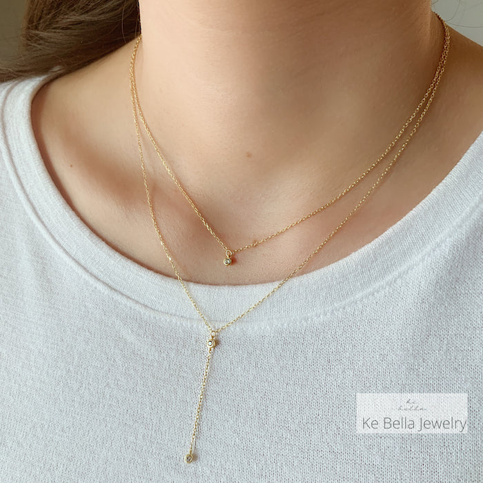 Layered Glint Necklace