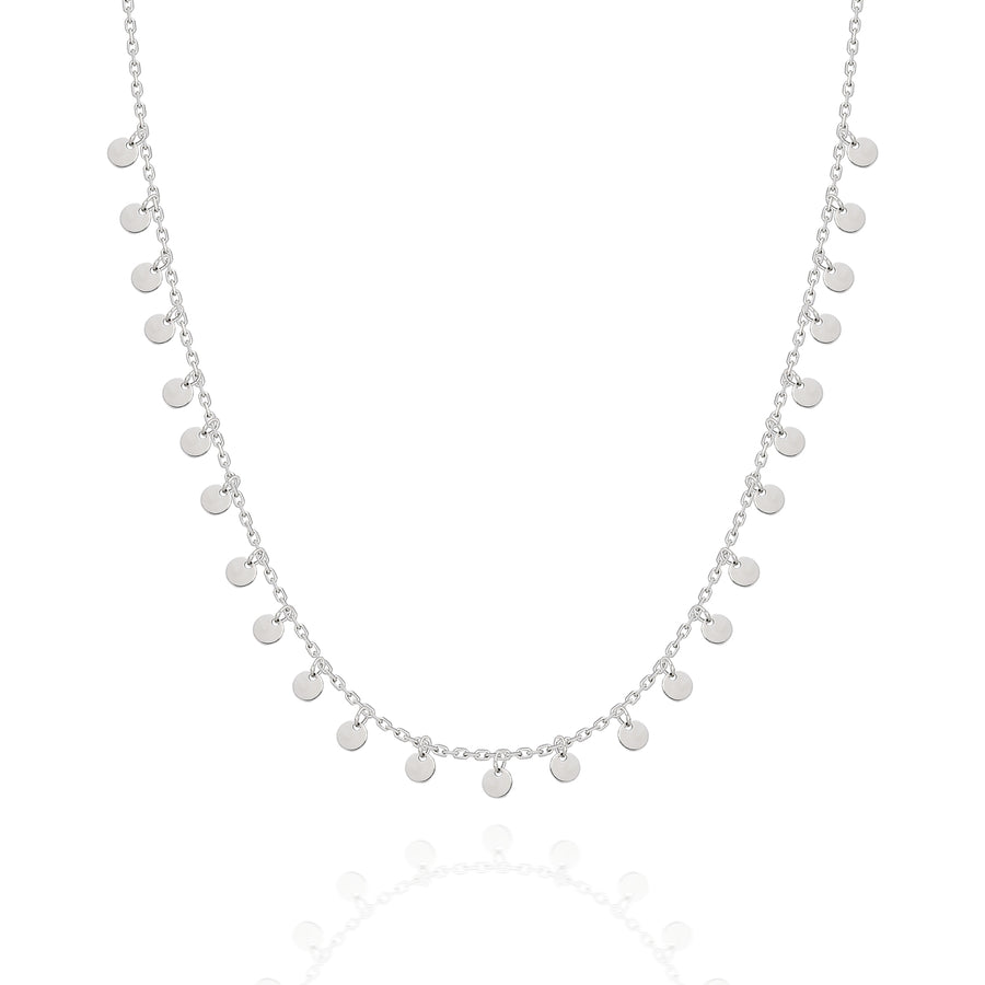 Collana Shimmer Mini Circles | Argento sterling