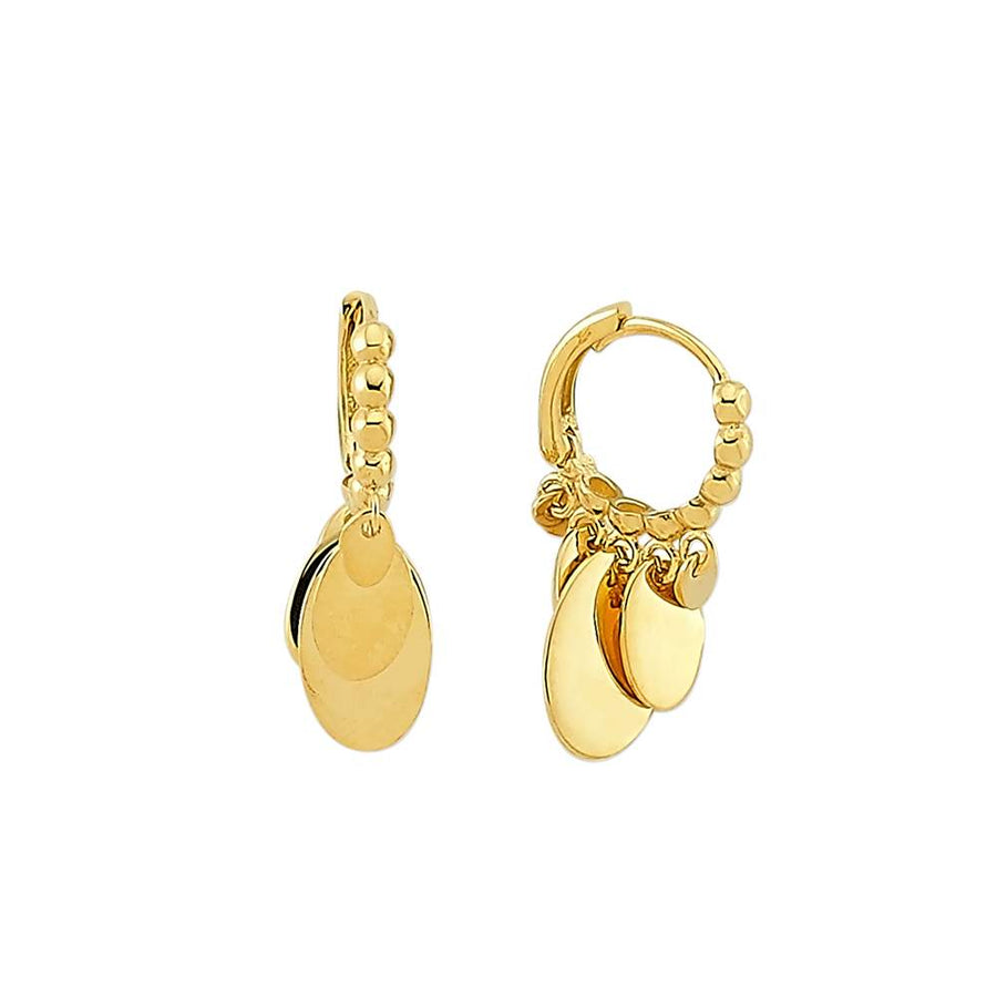 Freya Dangle Earrings | Gold Vermeil