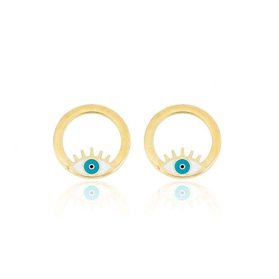Little Eye Stud Earrings