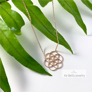 Seed Of Life Necklace without Stones