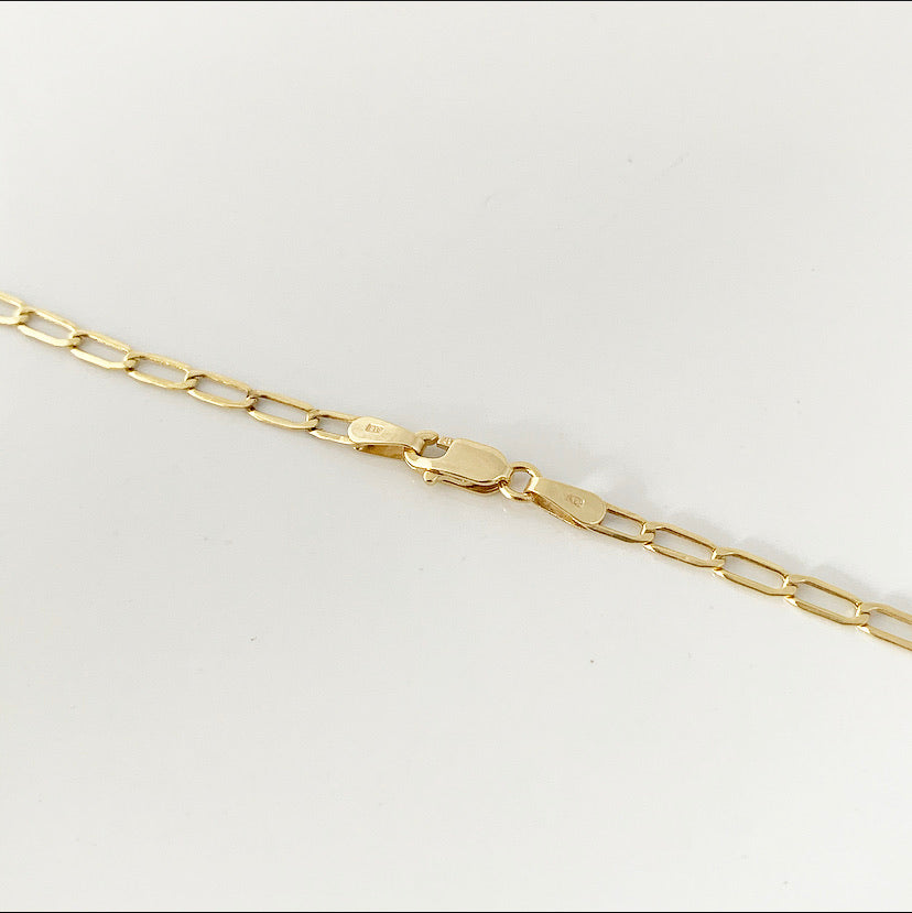 Paperclip Chain | 10k Gold
