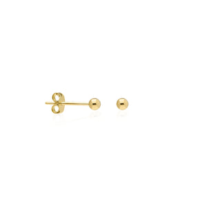 3mm Ball Stud | Oro 14k