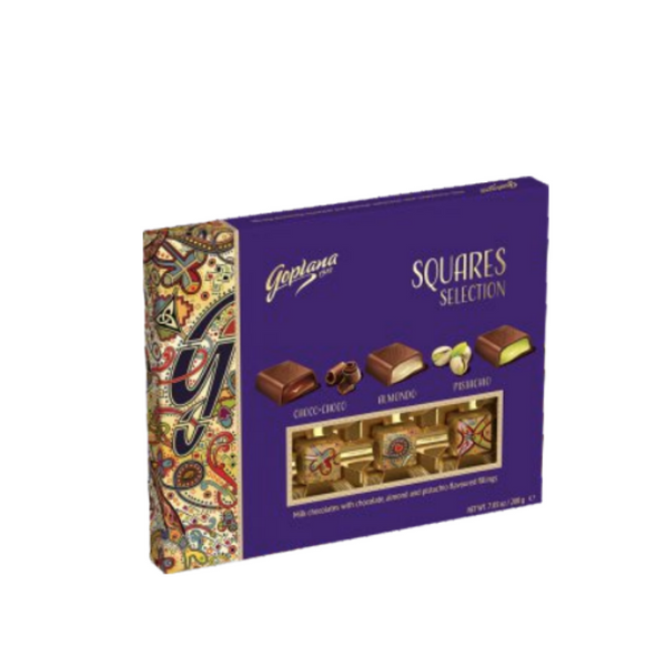 Chocolate Goplana Squares Selections - Itaim Flores