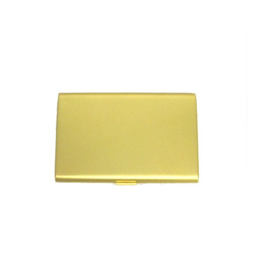 Quality Aluminum Gold Business Card Holder Case/Cigarette Case