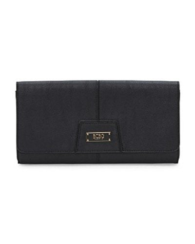 BCBG Paris Chic Story Clutch (Black)