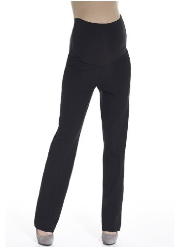 Queen Mum Women's Maternity City Suit Trousers Size 18 Black
