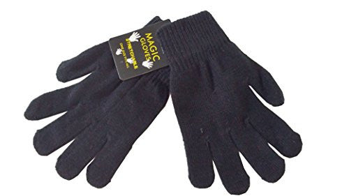 Diamond Visions Womans Magic Stretch Glove (Black)
