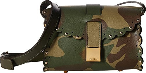 Furla Women's Amazzone Mini Crossbody Militare Crossbody Bag