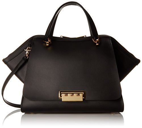 ZAC Zac Posen Zp1515-001 Top Handle Bag, Black, One Size