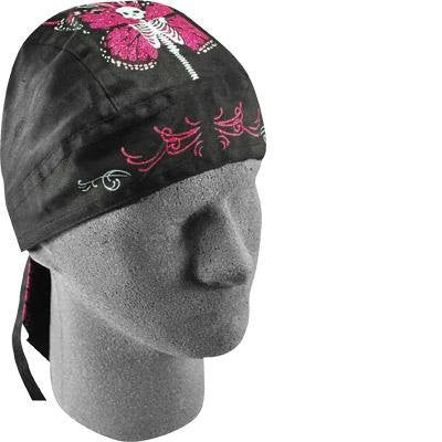 Zan Headgear Flydanna Highway Honey - One size fits most/Skull Butterfly