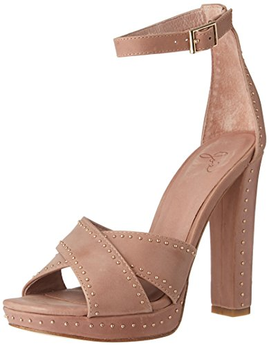 Joie Women's Naara Platform Dress Sandal, Dusty Buff, 37 EU/7 M US