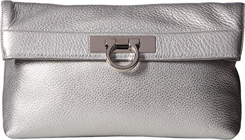 Salvatore Ferragamo Women's May 21F562 Argento Clutch