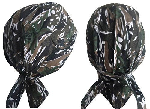 Buy Caps and Hats Smokey Branch Skull Cap Doo Rag Mens One Size Camouflage