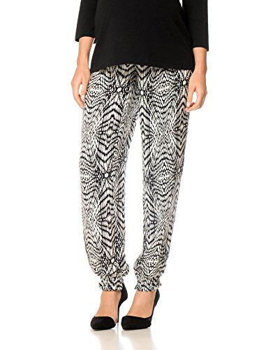 Rebecca Minkoff Under Belly Crepe De Chine Slim Leg Maternity Pants