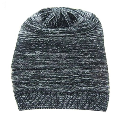 Baost New Unisex Womens Mens Knit Baggy Beanie Hat Winter Warm Oversized Ski Cap