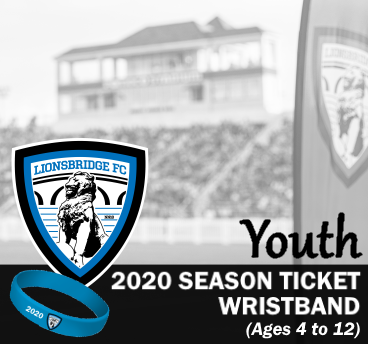 2020 Season Ticket Wristband (Youth)