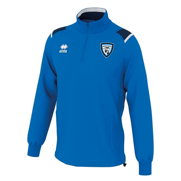 Erreà Coaches Sideline 1/4 Zip (Blue)