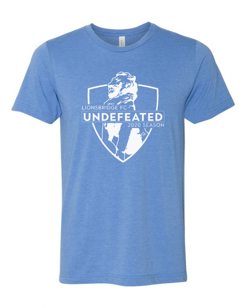 Limited Edition: 2020 UNDEFEATED Shirt (Light Blue)