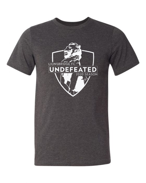 Limited Edition: 2020 UNDEFEATED Shirt (Dark Gray)