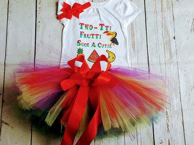 Rainbow Baby Tutu | 2nd Birthday Outfit