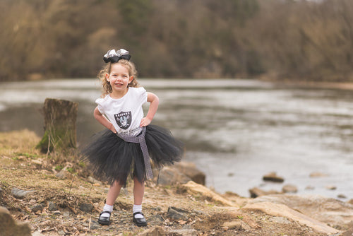 Sports Team Tutu | Girl Football Outfit
