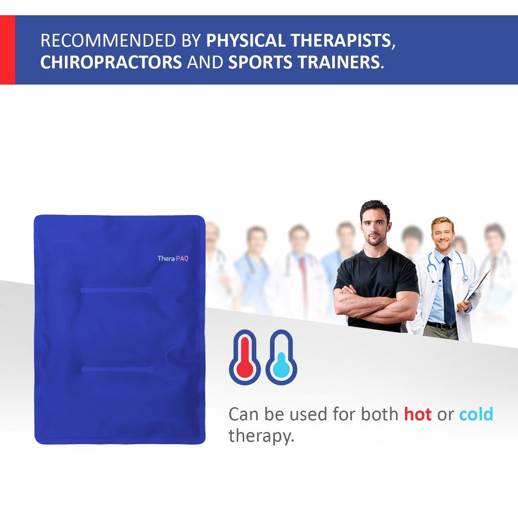 Large Pain Relief Hot & Cold Pack by TheraPAQ - TheraPAQ Hot & Cold Packs