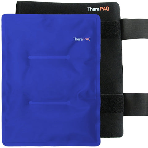 Large Pain Relief Hot & Cold Pack with Wrap by TheraPAQ - TheraPAQ Hot & Cold Packs