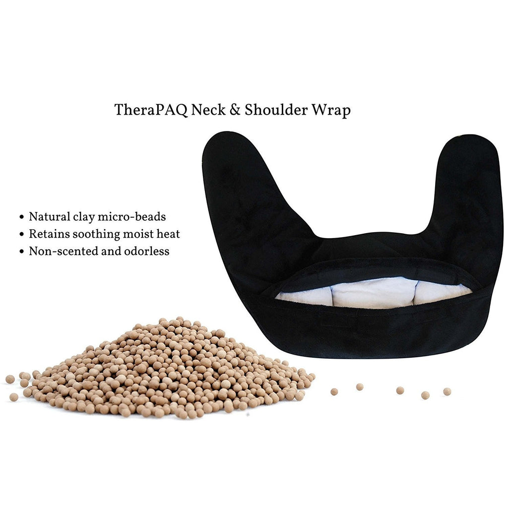 Neck and Shoulder Pain Relief Heating Pad by TheraPAQ - TheraPAQ Hot & Cold Packs