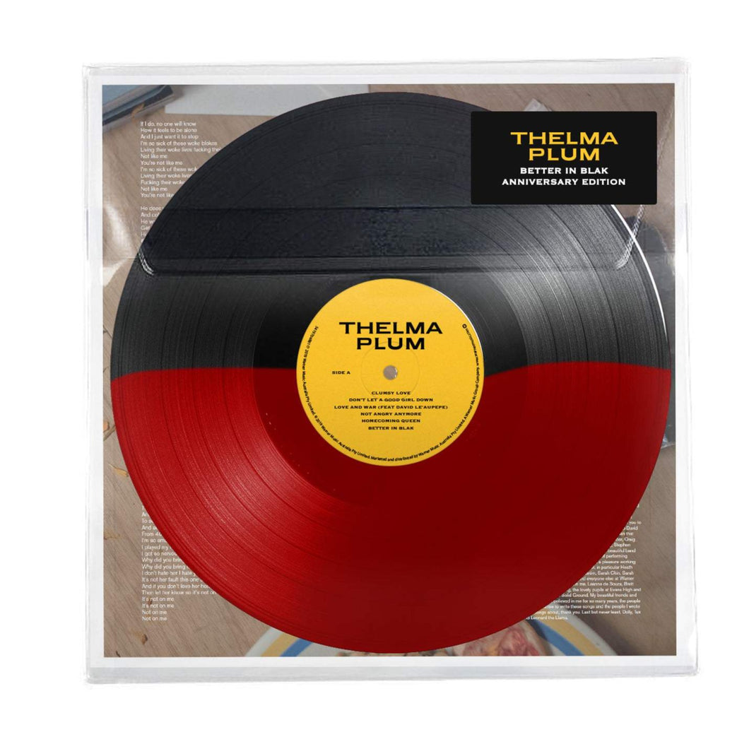 Thelma Plum -  Better In Blak (Ltd. First Nations Flag Colour Vinyl)