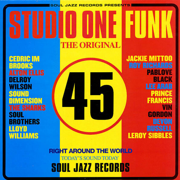 Studio One Funk Compilation - Soul Jazz Records