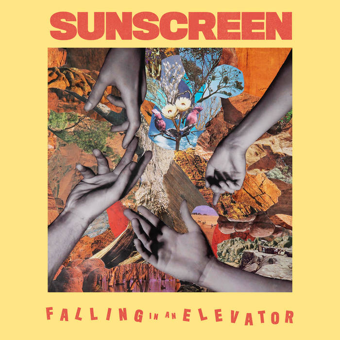 Sunscreen - Falling In An Elevator / Just A Drop LP