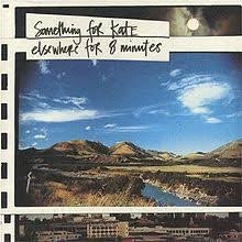 Something For Kate - Elsewhere For 8 Minutes (Clear Blue Vinyl)