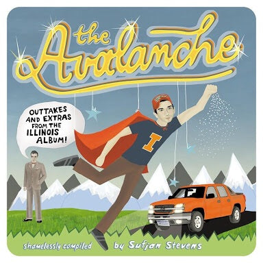 "Sufjan Stevens - The Avalanche ""Pre-Order"" (Coloured vinyl) Out 31/8"