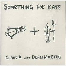 "Something For Kate - Q & A With Dean Martin ""Pre-Order"" (White Vinyl) Out 31/8"