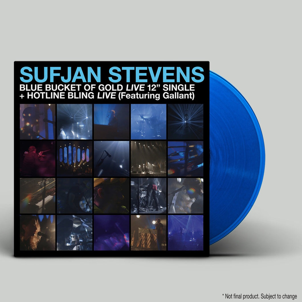 Sufjan Stevens - Blue Bucket Of Gold / Hotline Bling (Blue vinyl)
