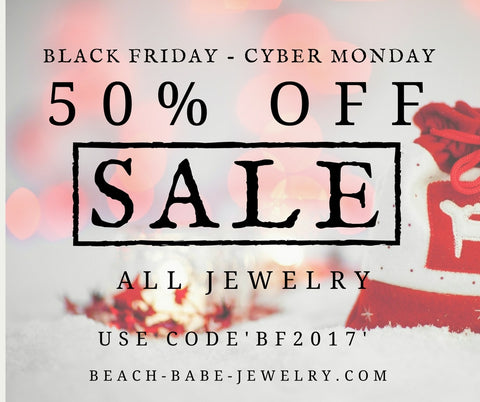 50% Off Sale Black Friday to Cyber Monday