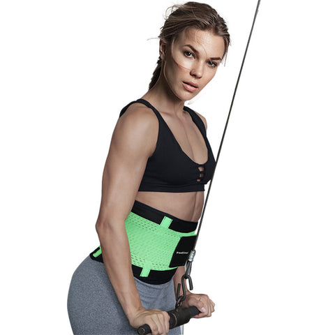 Green Fitness Belt - waistshaper
