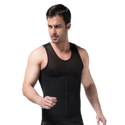 MEN'S BODY SHAPER SLIMMING SHIRT