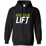 HN2: Keep Calm and Lift Gym Motivation Pullover Hoodie 8 oz