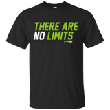 HN2: Sports and Fitness Gym Motivational Quote Printed T Shirts There Are No Limits