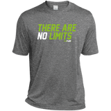 HN2: Sports and Fitness Dri-Fit Moisture-Wicking Tee Shirt There Are No Limits