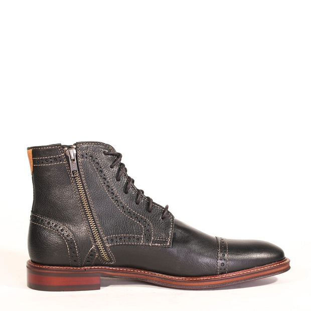 Johnston & Murphy Warner Cap Toe Zip Boot