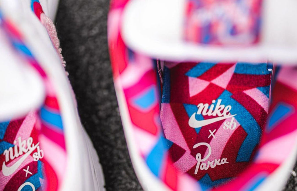 Piet Parra x Nike SB Dunk Low White