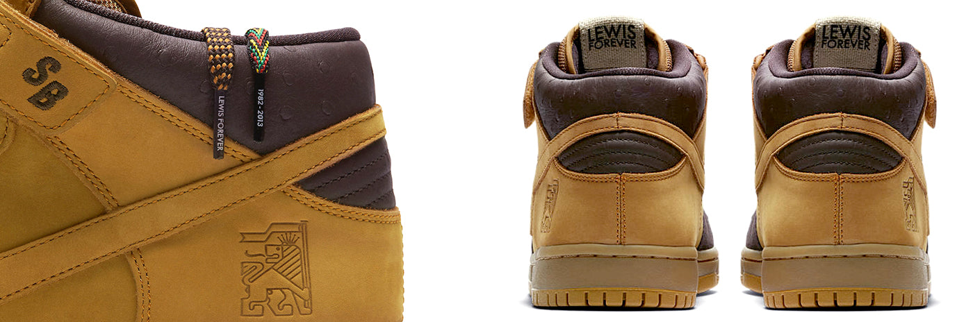 timeless design 96bf1 dc375 Lewis Marnell Tribute Dunk Mid – 1991 Skateshop Online Store