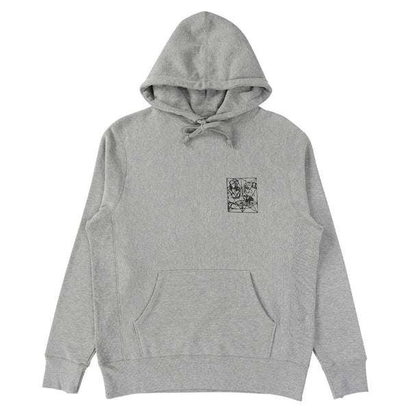 FA Prey Hood Grey Heather