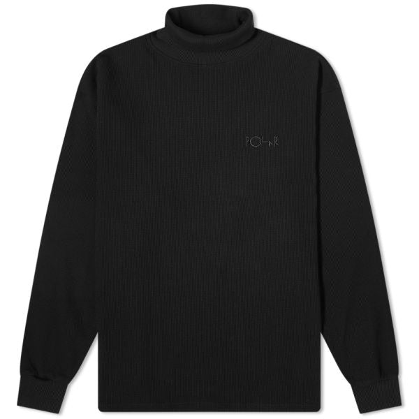 Polar Skate Co Shin Turtle Neck - Black | 1991 Skateshop | Fremantle WA