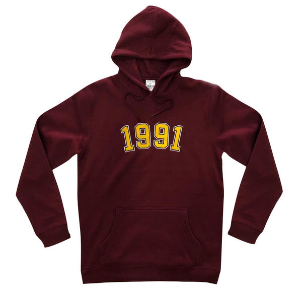 1991 Po-Lo Pull Over / Burgundy Q2-19