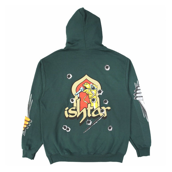Boys of Summer Ishtar Hooded Sweatshirt - Dark Green